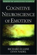 Series in Affective Science: Cognitive Neuroscience of Emotion (1999, Hardcover)