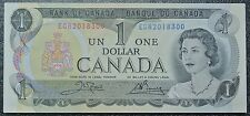 BANK OF CANADA 1973-Bundle 50 Consecutive $1 Bank Notes- ECR 300-349 -Crow&Bouey