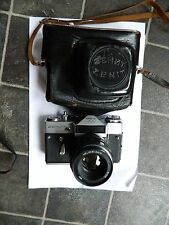 Zenit EM Moscow 1980  35 mm SLR Camera with case