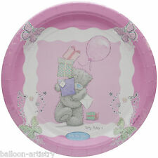 8 Me To You Pretty Pink Tatty Teddy Birthday Party Large 22.8cm Paper Plates