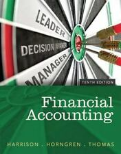 Financial Accounting Tenth Edition Harrison Horngren Thomas VGC Text Book