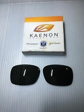 GENUINE-Kaenon Burnet Polarized Lenses SR-91 G12- Part #401-017 Gray/Green Color