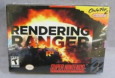 RENDERING RANGER R2 (Super Nintendo, SNES) Timewalk Games *NEW* Sealed