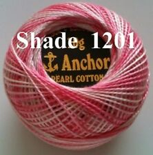 1 ANCHOR Pearl Cotton Ball Variegated Crochet Embroidery Thread.1 Flat/Free Pstg