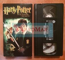 ☀️Harry Potter and the Chamber of Secrets VHS Movie Daniel Radcliffe MINT