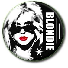 "BLONDIE/ DEBBIE HARRY/ PUNK ROCK/ 1970'S/ 1980'S/ 25 MM/ 1"" POP ART BUTTON BADGE"