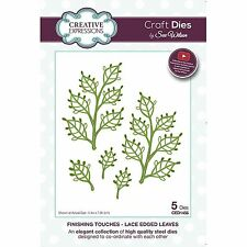 SUE WILSON FINISHING TOUCHES LACE EDGE LEAVES DIE SET CREATIVE EXPRESSIONS