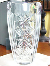 "Waterford Crystal CORMAC Vase Large 13"" IRELAND - NEW w/ BOX!"