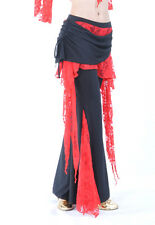 New belly dance costume Flank Openings Lace Trousers pants 11 colors