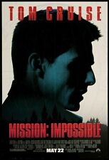 POSTER MISSION IMPOSSIBLE 2 3 4 BRIAN DE PALMA DEPALMA JON VOIGHT TOM CRUISE #5