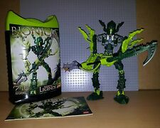 LEGO BIONICLE SET 8986 - GLATORIAN LEGENDS - VASTUS - RARE INC CANISTER & INST
