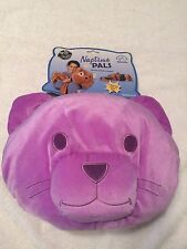 Purple CAT Naptime Pal w/Removable BLANKET Includes PILLOW & CARRYING CASE! NEW!