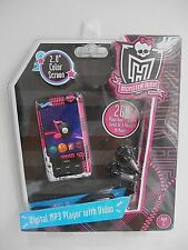 Monster High MP3 Player with Video 2GB 2.0 Color Screen