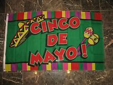 3x5 Cinco De Mayo Festival Party Flag 3'x5' Banner Brass Grommets