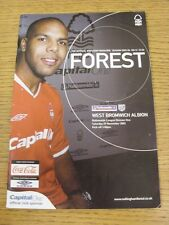 29/11/2003 Nottingham Forest v West Bromwich Albion  (the item is in good/very g