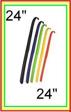 "1x 24"" Long Handle Plastic Shoe Horn Shoehorn"