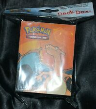 Charizard Deck Box Ultra Pro For Collectible Trading Cards Games Pokemon Case
