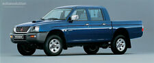 Mitsubishi L200 workshop manual C.D 1997-2005