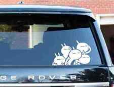 Funny Cute Bunny Rabbit Windows, Sides, Hood, Bumper Car Sticker