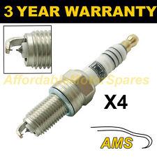 4X doppio Iridium Spark Plugs per FIAT PANDA 1.2 Natural Power 2007-2009 60PS #2