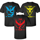 Pokemon Go Team Valor Mystic Instinct Pokeball Maglietta Tops Graphic Tee Moda