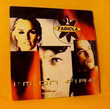 Cardsleeve Single CD 2 FABIOLA I'm ON Fire 2TR 1996 eurodance