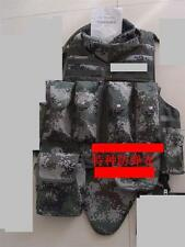 07's series China PLA Special Forces Woodland Digital Camo Bullet-Proof Clothes
