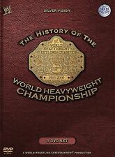 WWE The History Of The World Heavyweight Championship 3x DVD DEUTSCH NEU