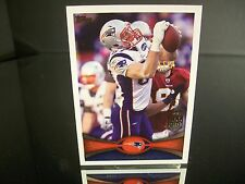 Rare Rob Gronkowski Topps 2012 Card #70 New England Patriots NFL Football