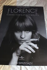 Florence & the Machine POSTER PROMO POLISH RARE 68 cm x 98cm