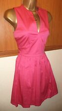 GUEST LIST PAPAYA Hot Pink Party Dress Size 8 10 New