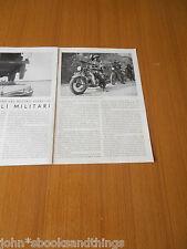 1936 LA MOTORIZZAZIONE DEL ESERCITO ITALIANO VEICOLI MILITARI MOTO CARRO ARMATO