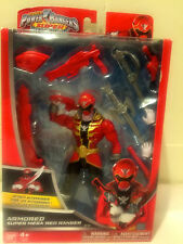 NEW~ Power Rangers Super Megaforce - Armored Super Mega Red Ranger Action Figure