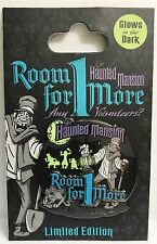 Disney - WDW - Haunted Mansion - Room For One More Event - Logo LE 500 Pin