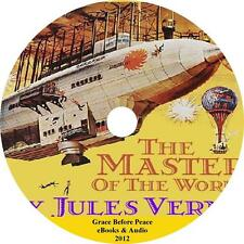 The Master of the World, Jules Verne Sci-Fi Adventure Audiobook on 1 MP3 CD