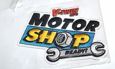 "V-Twin Mfg Motor Shop Ready! Patch New  4.53"" X 3.35""  (930)"