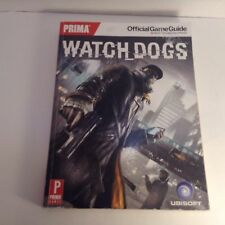 Watch Dogs Prima Official Game Guide Used Xbox One/360 PS3/PS4 Watchdogs PC