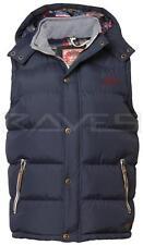 Mens Tokyo Laundry padded gilet bodywarmer hoodie jacket 1J1300R