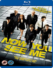 NOW YOU SEE ME - BLU-RAY - REGION B UK