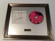 PERSONALLY SIGNED/AUTOGRAPHED ICONA POP - ICONIC CD FRAMED PRESENTATION