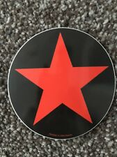 Rage Against The Machine Style Red Star Sticker Decal Graphic Bumper Wall Locker