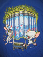 "1997 PINKY and The BRAIN'S CLONING MACHINE C-1000 ""Yes Master Brain"" (LG) Shirt"