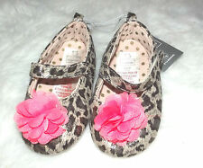 Baby's 9-12 mths shoes pink leopard baby shoes 9-12 months - New