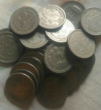 50 paise, nikal मेटल , 100 no coin लॉट. Very low price,good condition .