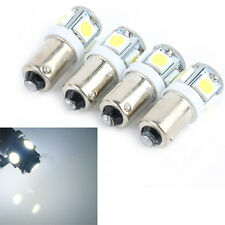 New 10 x T11 12V BA9S Bright White 5050 SMD 5 LED Auto Car Wedge Light Bulb Lamp