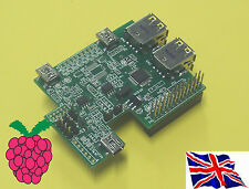 Rs-Pi internal USB HUB & Multi-function I2C RTC Board for Raspberry Pi