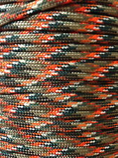 Lost Camo 550 Paracord Mil Spec Type III 7 strand parachute cord 100' USA Made