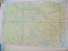 Vintage Maps of lakes in Canada