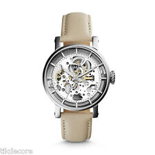 "Fossil ME3069 ""Original Boyfriend"" Mechanical Leather Skeleton Watch"