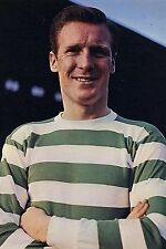 Football Photo BILLY McNEILL Celtic 1965-66